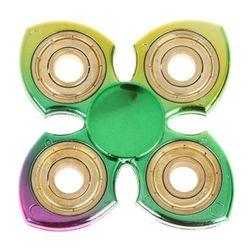 Barevný kovový fidget spinner - 2 varianty