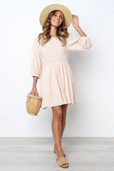 Damska sukienka z długimi rękawami Joeliyn 1