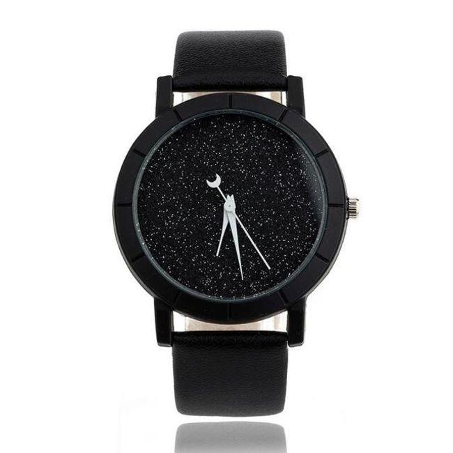 Dámské analogové hodinky bez čísel - různé barvy 1