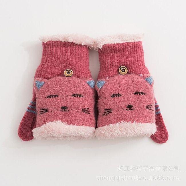 Ženske zimske rukavice B0362 1