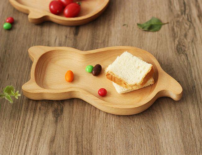Dřevěný dekorační talířek - různé tvary 1
