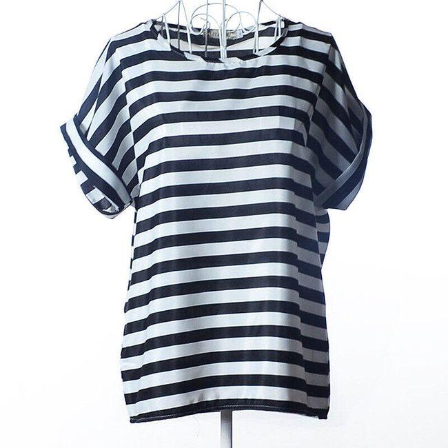 Dámské tričko s volným střihem - Typ 6-velikost č. 5 1
