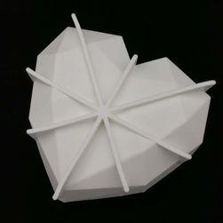Szív alakú torta forma