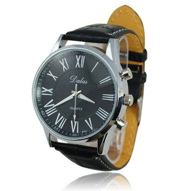 Kulaté analogové hodinky - strojek Quartz, typ 796 1