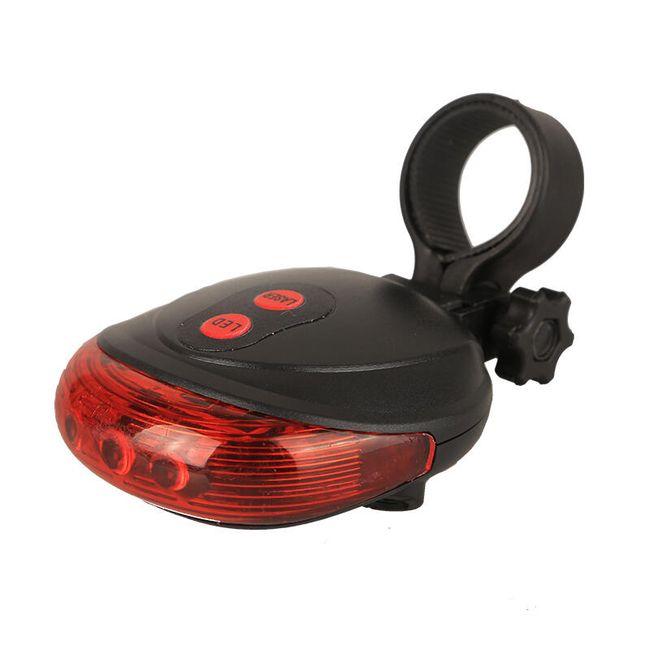 Zadní cyklo osvětlení s laserem 1