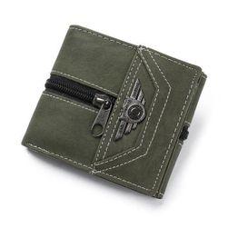 Muški novčanik sa oznakom - 3 boje