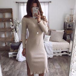 Dámské pletené šaty Alisson - velikost 5