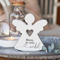 """Srdcový anděl - """"Mami, jsi můj anděl."""" SR_1005957"""