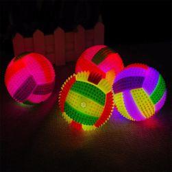 Podświetlana piłka z dźwiękami