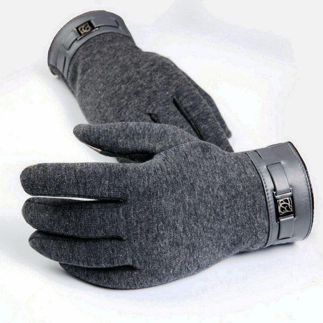 Mănuși bărbătești pentru ecran tactil - 3 culori 1