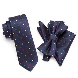Leptir mašna, kravata i marama - elegantni komplet