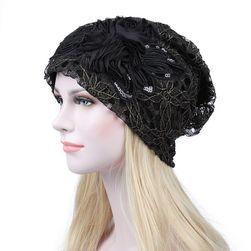 Elegancka ekstrawagancka czapka - 5 kolorów