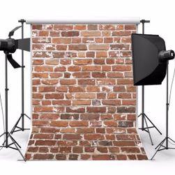 Fundal pentru fotografii - zid de cărămidă 1,5 x 2,1 m