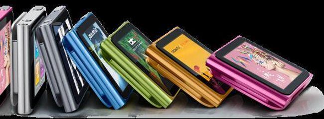 MP4 přehrávač s 1.8'' LCD dotykovým displejem, paměť 2GB - 5 barev 1