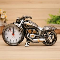 Ceas deșteptător în formă de motocicletă