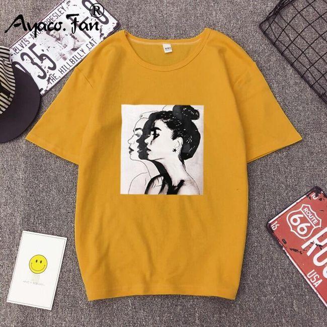 Damska koszulka DT106 1