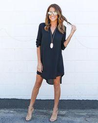 Mini haljina sa asimetrilnim krojem - 5 boja