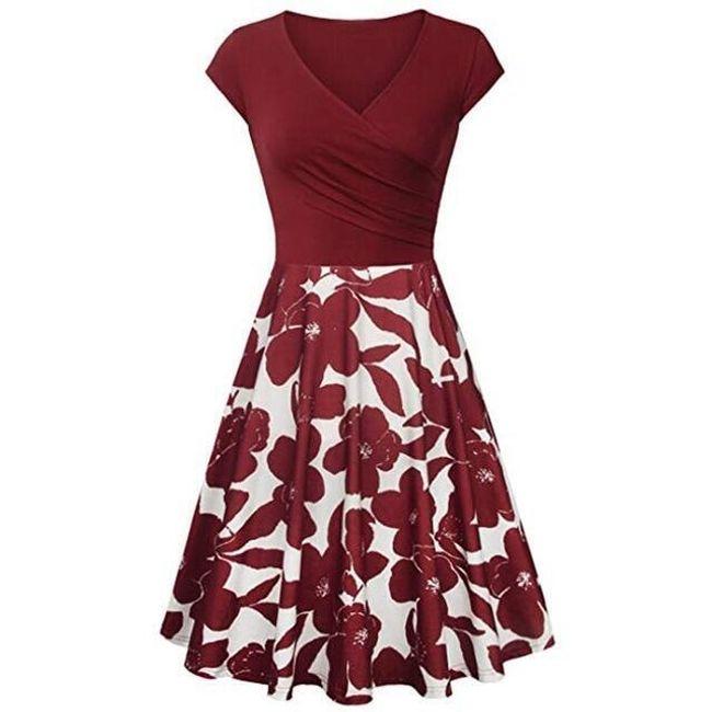 Ženska haljina kratkih rukava Reese 1