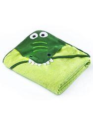 Dětská osuška 100x100 cm green crocodile RW_21164