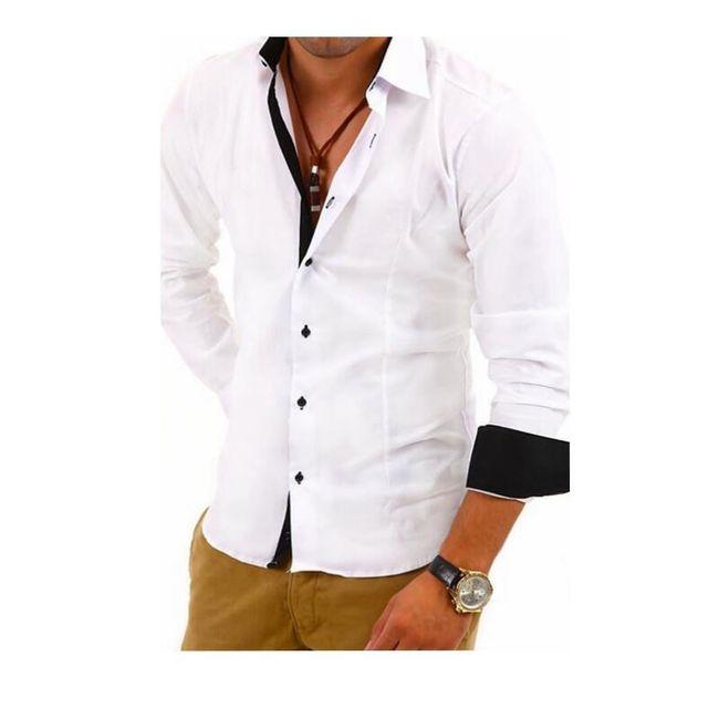 Férfi kétszínű ing - 5 színben