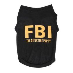 Obleček pro psa FBI
