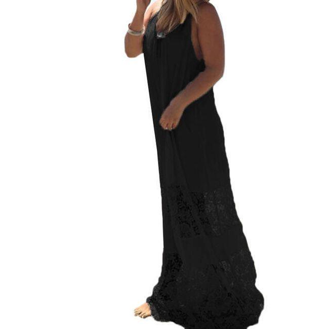 Hosszú nyári ruha - 3 szín  8 méretben