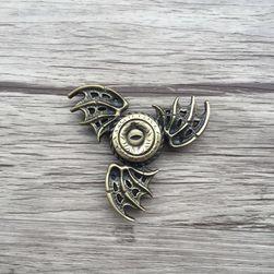 Fidget spinner z okiem smoka i skrzydłami