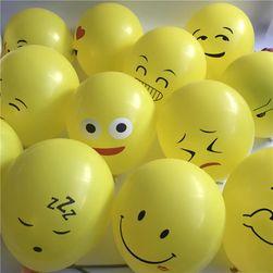 Emoji balónky - 10 ks