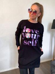 Dámské mikinové šaty LT_IMD21126
