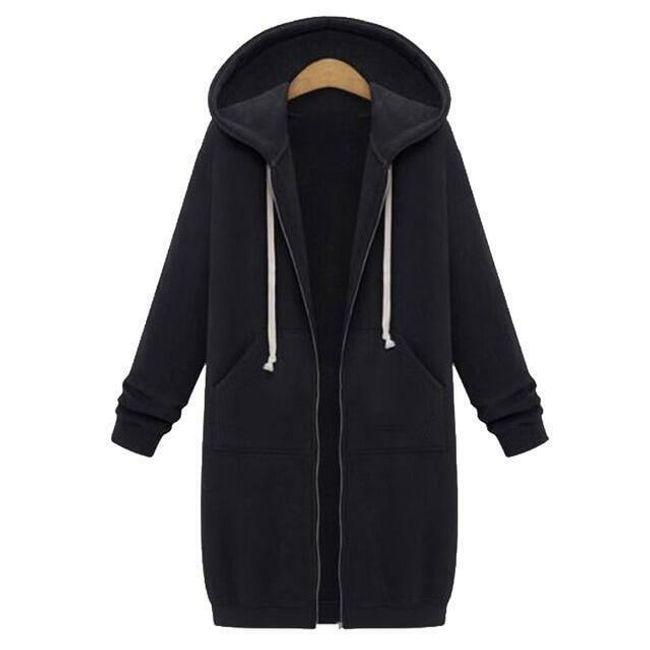 Női kabát kapucnival Tenny 1