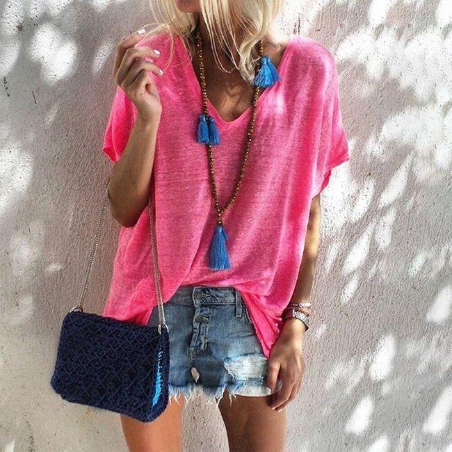 Дамска тениска с къси ръкави Ursa 1