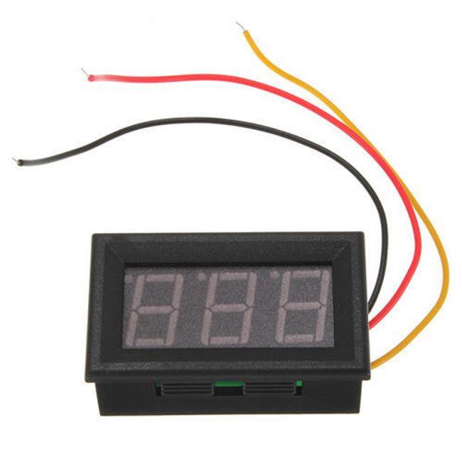 Измеритель напряжения аккумулятора 1