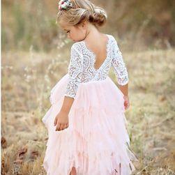 Dziecięca sukienka z tiulową spódnicą