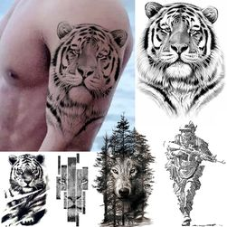 Privremena tetovaža Tiger