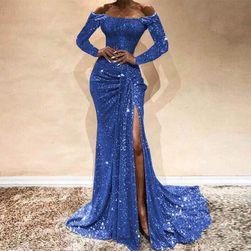 Ženska haljina sa dugačkim rukavima Anouska