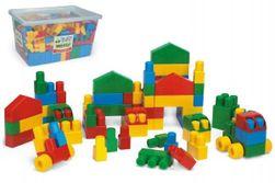 Kocky stavebnice Middle Block plast 240ks v plastovom boxe 59x35x39cm Wader RM_89080152