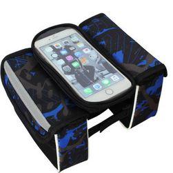 Вело сумка с отделением для мобильного телефона Leeroy