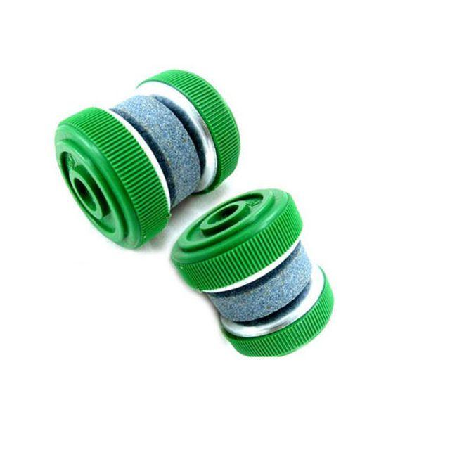 Praktický cestovní ostřič na nože - zelený 1