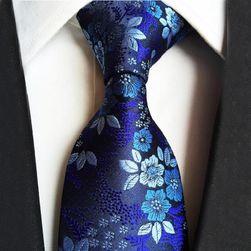 Cravată cu motiv floral pt. bărbați - 14 variante