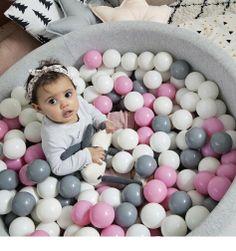Plastové míčky do dětského bazénku UJ48