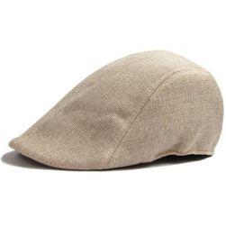Férfi egyszínű barett sapka