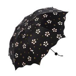 Parasolka z kwiatowym wzorem