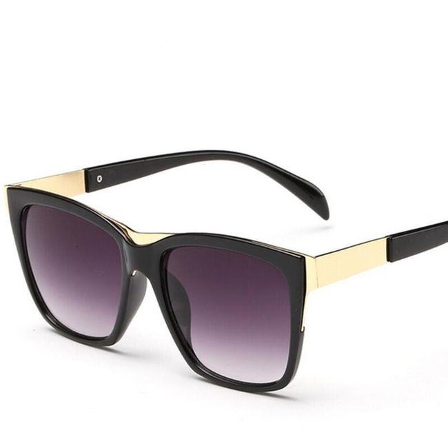 Dámské módní sluneční brýle - 5 barev 1