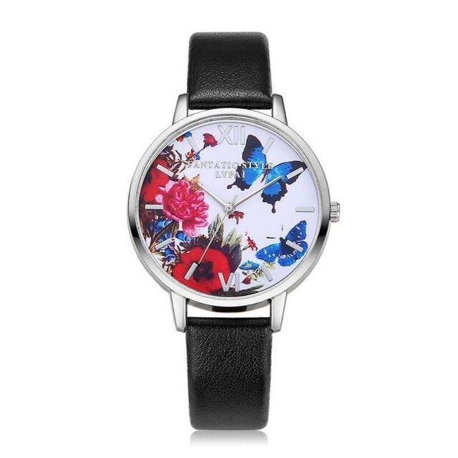 Ženska ura z metuljem - 9 barv 1