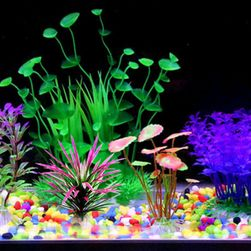 Umělé květiny do akvária - 5 kusů