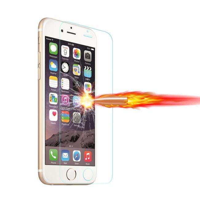 Zaščitno kaljeno steklo za iPhone - različnih velikosti 1
