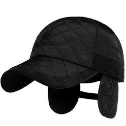 Pánská čepice s klapkami na uši