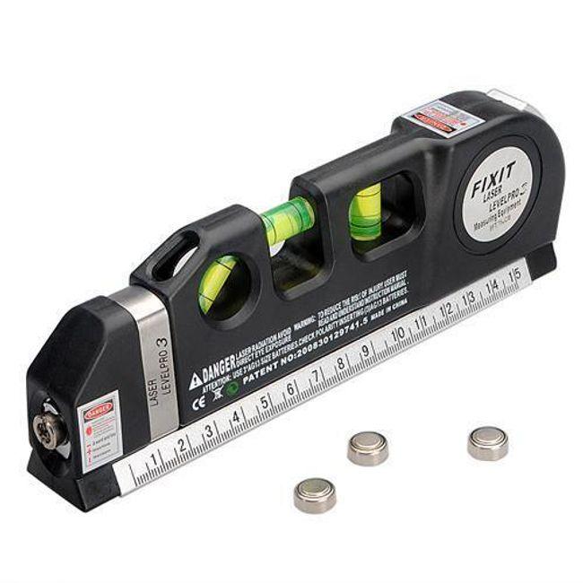 Boloboc cu laser și bandă de măsură 1
