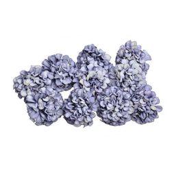 Umělé květiny Hortenzia Fialová