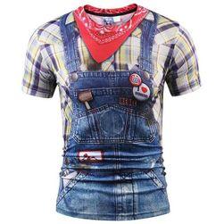 Pánské stylové tričko s potiskem